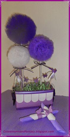 Cute dreams and Fantasy: Mesa de comunión violeta !!!