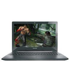 Lenovo G50-70 (59-422418) Notebook (4th Gen Intel Core i3- 4GB RAM- 1TB HDD- 39.62cm (15.6)- DOS- 2GB Graphics) (Black-Silver)
