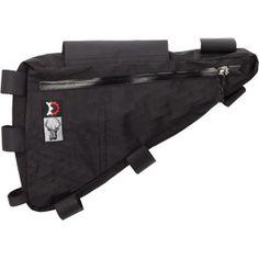 The Surly frame bag.  Eliminates two bottle mounts (dangit).  ~4.5 liters.