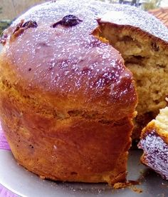 Brunch Recipes, Sweet Recipes, Greek Desserts, Bread Cake, Sweet And Salty, Christmas Treats, Banana Bread, Food To Make, Food And Drink