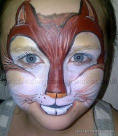 squirrel face paint | Chipmunk Face Paint Face painting