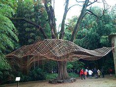 CAM Bamboo sculpture