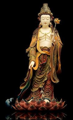 A DI DA PHAT QUAN THE AM BO TAT DAI THE CHI BO TAT GUANYIN KWANYIN BUDDHA 10239 | Flickr - Photo Sharing! Buddha Temple, Buddha Art, Buddhist Architecture, Avatar, Guanyin, Christen, Gods And Goddesses, Religious Art, China