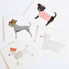 Posh puppies greeting cards.....Super SWEET!!!!