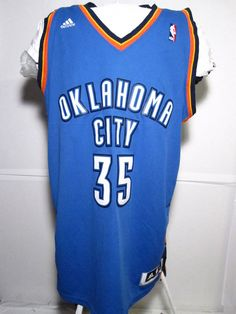 Adidas Kevin Durant OKC Basketball Jersey Oklahoma Size XL  ee80b75ca