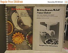 ON SALE  c.1992 Pair of KITCHENAID® Mixers and by 1kingsdaughter