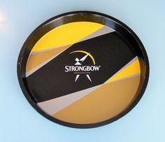 STRONGBOW Cider Advertising Tin Tray - Pub/Bar/Cafe Pub Bar, Tin, Advertising, Ebay, Bar Stand, Pewter