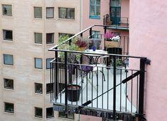 ¡¡Bienvenido verano!! 17 balcones a todo color | La Garbatella: blog de decoración, estilo nórdico.