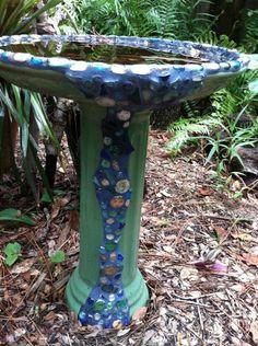 Whimsical garden elements were all through the pathways at Childrens Garden.
