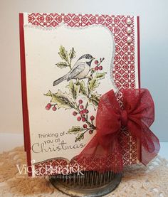 It's a Stamp Thing: The Paper Players........Christmas  Stampin Up