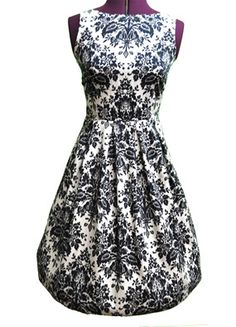 Really have nowhere to actually wear this dress but love it anyhow.