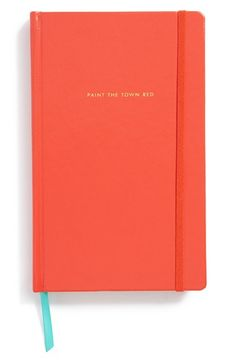 """If I Do Say So Myself"" Blue - kate spade new york hardcover notebook available at #Nordstrom"
