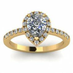 Pear Shaped Diamond Wedding Ring 17 Fancy Pear shaped diamond engagement