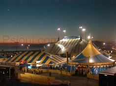 Cirque Du Soleil Dralion Santa Monica pier California 1999