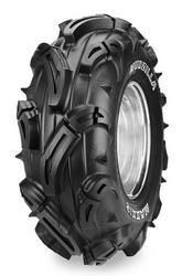 The Maxxis Mudzilla ATV tire is the most aggressive mud tire out there.    This mean-looking tire features pyramid-shaped tread blocks and longer, angled lugs.    The wraparound shoulder lugs give you maximum steering control, as well as helping to dig out of ruts.    This tire's heavy 6-ply construction resists puncture and is durable enough for whatever conditions you encounter. http://www.atvtires.com/maxxis-mudzilla-m966.html