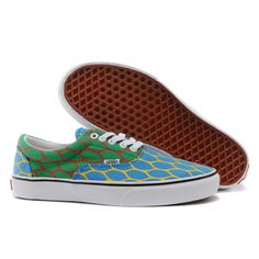 9b064f128c15 Vans Shoes Blue Green Rise of Cobra 2 Era Shoes Unisex Classic Canvas