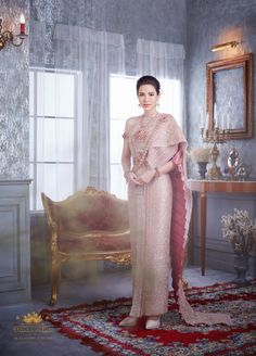 Thailand National Costume, Thailand Costume, Thai Traditional Dress, Thai Dress, Vogue Magazine, Bridesmaid Dresses, Wedding Dresses, Girls Dresses, Costumes