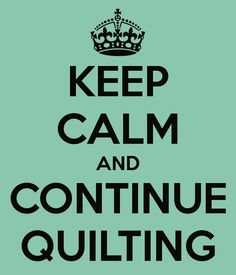 Before Prozac, there was quilting.
