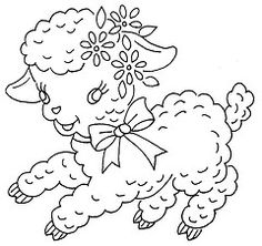 a lot of FREE vintage embroidery patterns
