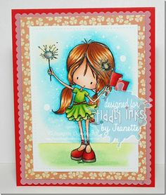 Happy Thoughts & Inkspots: Tiddly Inks Tuesday Challenge