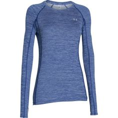 4a43c9e45c Under Armour Women's Coldgear Cozy Long Sleeve Crew - Cobalt: Stay warm  with help from