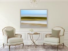 A personal favorite from my Etsy shop https://www.etsy.com/listing/273601002/skaket-beach-orleans-cape-cod-abstract