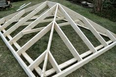 How to Build a Shed (with a Record 100  Pics, Vids, and Diagrams!)