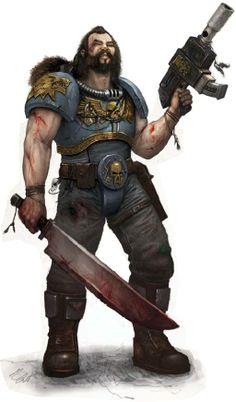 ______________________________________________MY BERSERKERS N OUR OPS__________________________:Space Wolf Scout w/ Stalker-Pattern Bolt-Pistol & Combat-Blade