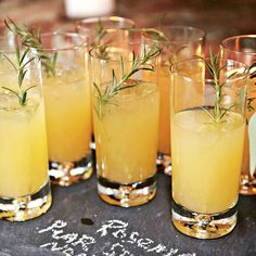 Rosemary Pear Spritzer