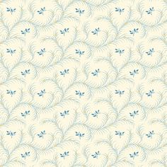 Search results for: 'fabric by theme floral makower' Floral Fabric, Cotton Fabric, Blue Bunting, Decoupage, Fat Quarters, Textile Patterns, Spoonflower, Feather, Neutral