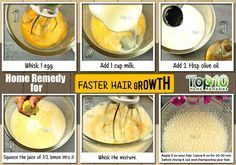 home remedy for faster hair growth http://www.top10homeremedies.com/how-to/make-hair-grow-faster.html