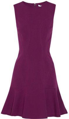 Diane von Furstenberg Jaelyn stretch-ponte mini dress on shopstyle.com