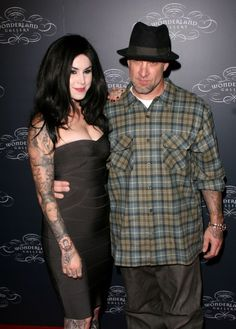 Jesse James and Kat Von Ds first official appearance
