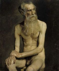 Albert Edelfelt, old man on ArtStack #albert-edelfelt #art