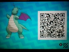 Shiny Dragonite QR Code for all the amazing people out there!