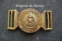 (JX-468)HEBILLA DE CINTURON DE BOY-SCOUT EXPLORADORES DE ESPAÑA-REPUBLICA O…