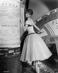 Brigitte Bardot on the set of 'Doctor at Sea', 1955. Photo by John Springer.