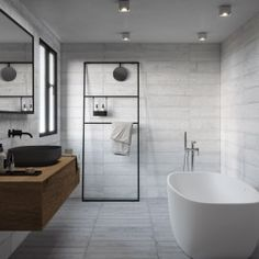 Buy Formwork White tiles from Porcelain Superstore. Visit our website for great deals on porcelain tiles all with 5 year guarantee. Grey Tiles, White Tiles, Kitchen Underfloor Heating, Concrete Tiles, Style Tile, Kitchen Flooring, Bathroom Ideas, Bathroom Inspiration, Bathroom Interior