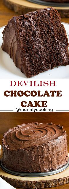 Devilish Chocolate Cake Choco Diavolo | Special Cuisine Recipes