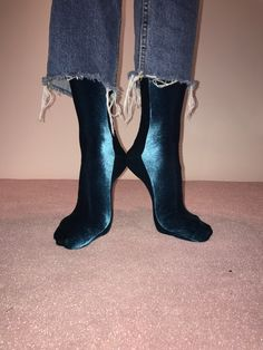 Velvet Sock's Aqua 0