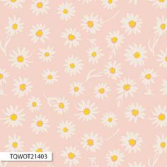 """Items similar to Wonderful Things by Bonnie Christine. """"Flower Glory Morning"""" - Premium Cotton, Art Gallery Fabrics on Etsy Cute Backgrounds, Cute Wallpapers, Wallpaper Backgrounds, Iphone Backgrounds, Daisy Wallpaper, Aztec Wallpaper, Vintage Wallpapers, Colorful Wallpaper, Screen Wallpaper"""