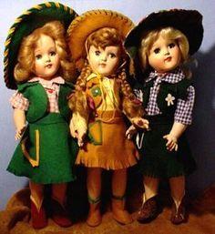 Ginny doll cowgirls .