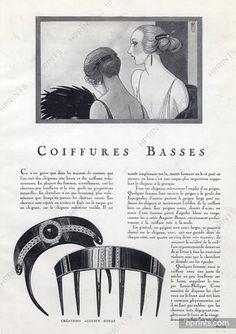 Auguste Bonaz (Combs) 1920 Marcel Fromenti, Art Deco Style