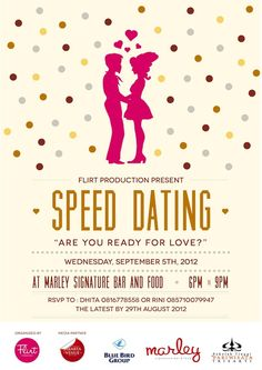 Speed Dating Event - You can meet your true love at these events.