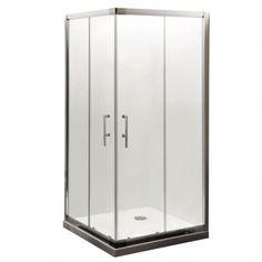 900mm x 900mm Square Corner Entry Shower Enclosure