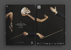 Teatro, música e dança muito bem representados em uma embalagem!  Só pra comprovar que o Design também é arte!  Designed by Alberto J. Saorín