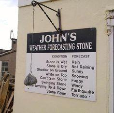 La piedra no miente, la piedra no supone, la piedra no hace previsiones. Es solo una piedra. Pero funciona.