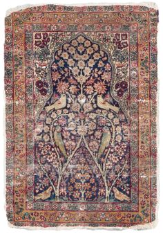 Ravar Kerman Antique Rugs by Woven Accents