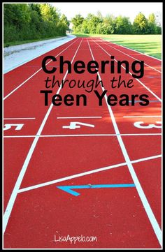 Of all the benefits of sports, you know what I love most about my kids playing sports?  I get to be the cheerleader. Here's why that's a GOOD thing for teens (or tweens) and parents.