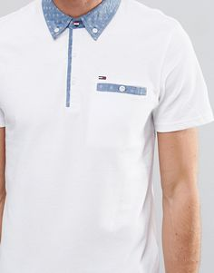 Image 3 of Hilfiger Denim Polo with Printed Collar